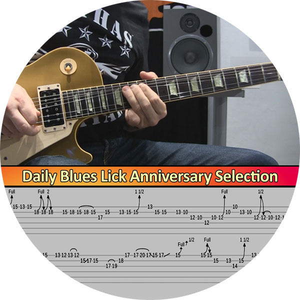 Daily Blues Licks Selection