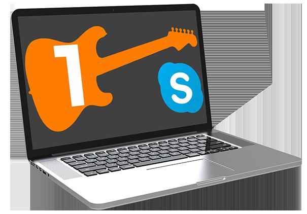 1 Lezione di Chitarra su Skype